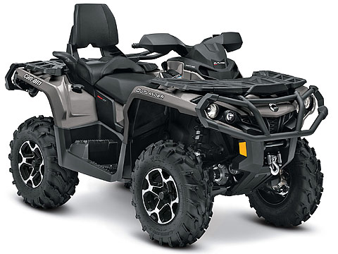 2013 Can-Am Outlander MAX XT 650 ATV pictures. 480x360 pixels