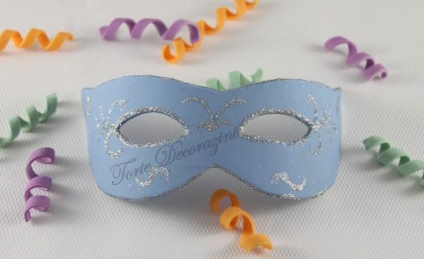 Torte e decorazioni come decorare una maschera di - Decorazioni per torte di carnevale ...