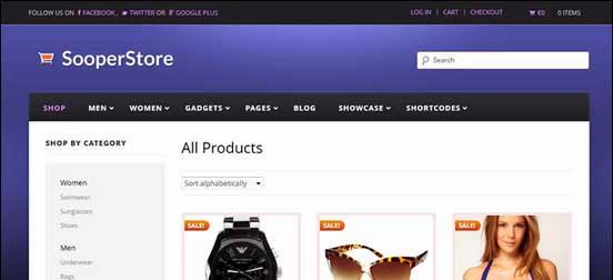 Sooperstore - Responsive WooCommerce Theme