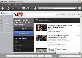 easily download and convert FLV videos from YouTube