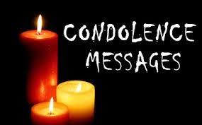 Modele lettre condoleances anglais