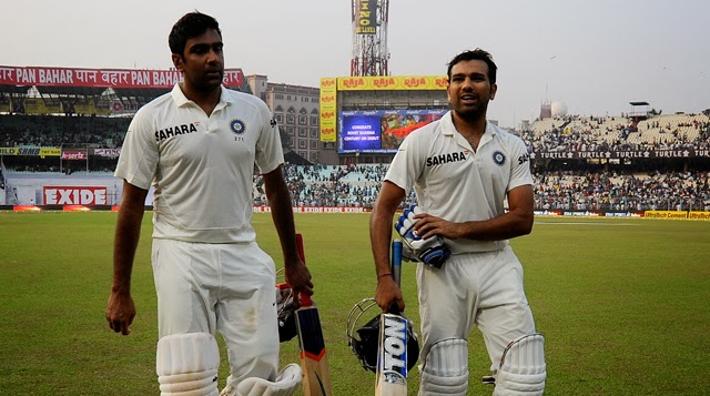 Ashwin-Rohit-Sharma-INDIA-vs-WEST-INDIES-1st-TEST-2013