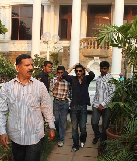 Shahrukh Khan S House Mannat At Bandra Photos Hot
