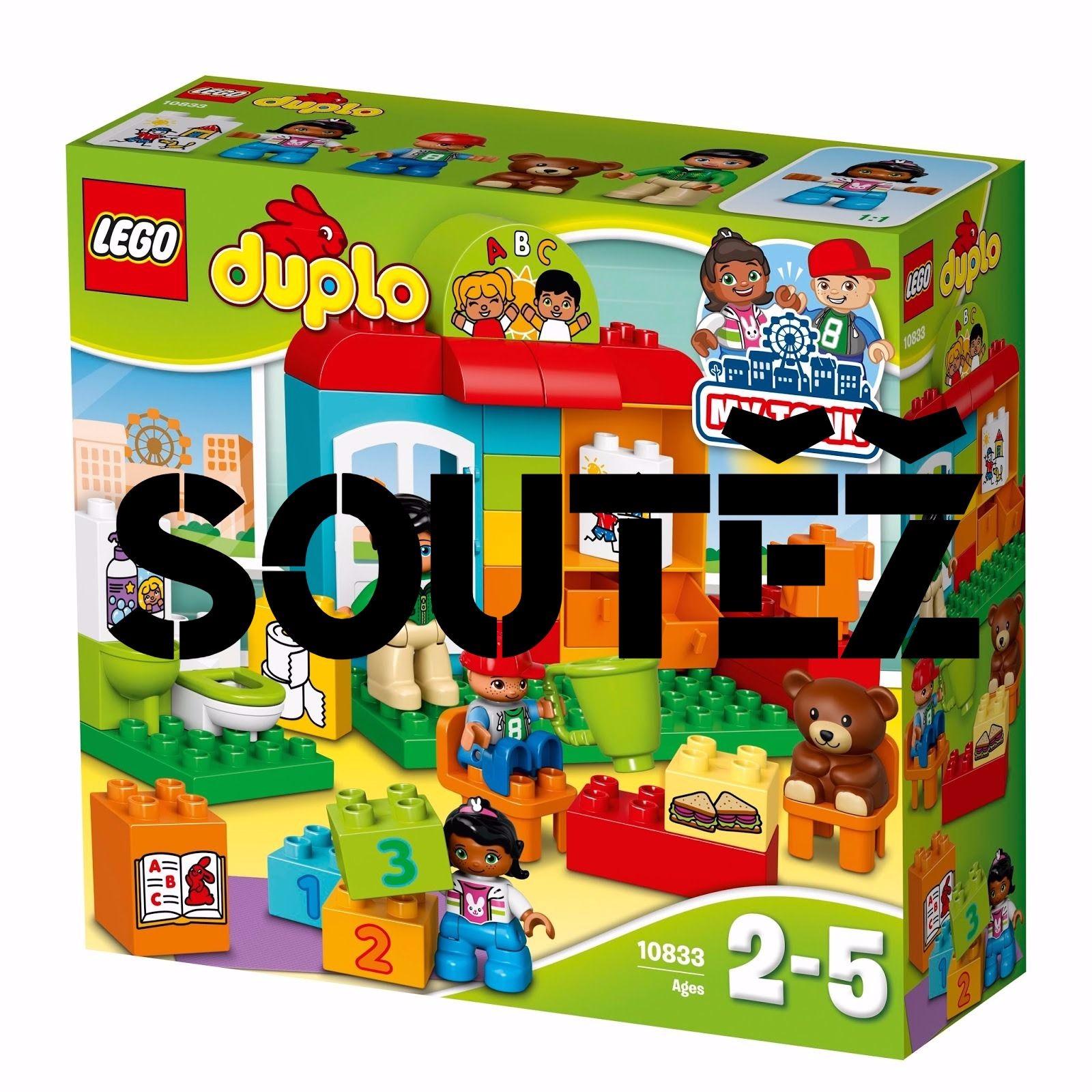 Vyhraj jednu ze dvou stavebnic LEGO DUPLO Školka