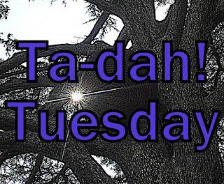 Faith Hope and Charity Shopping: Ta-dah! Tuesday - what