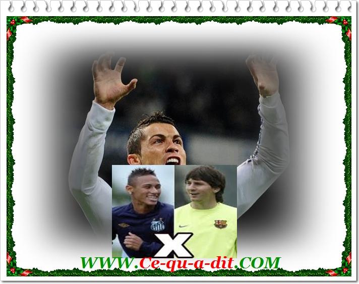 Ronaldo vs Messi Neymar