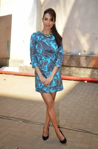 Malaika Arora Khan Latest Stills on The Sets Of Disney's kids Chat Show