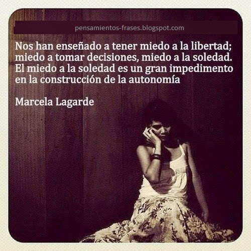 frases de Marcela Lagarde