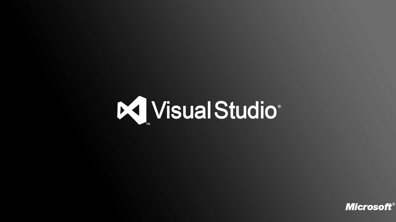 how to add a background visual studio