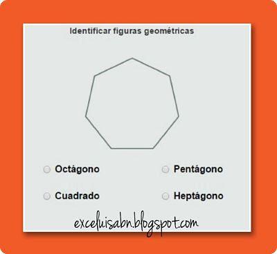 Identificar figuras geométricas.