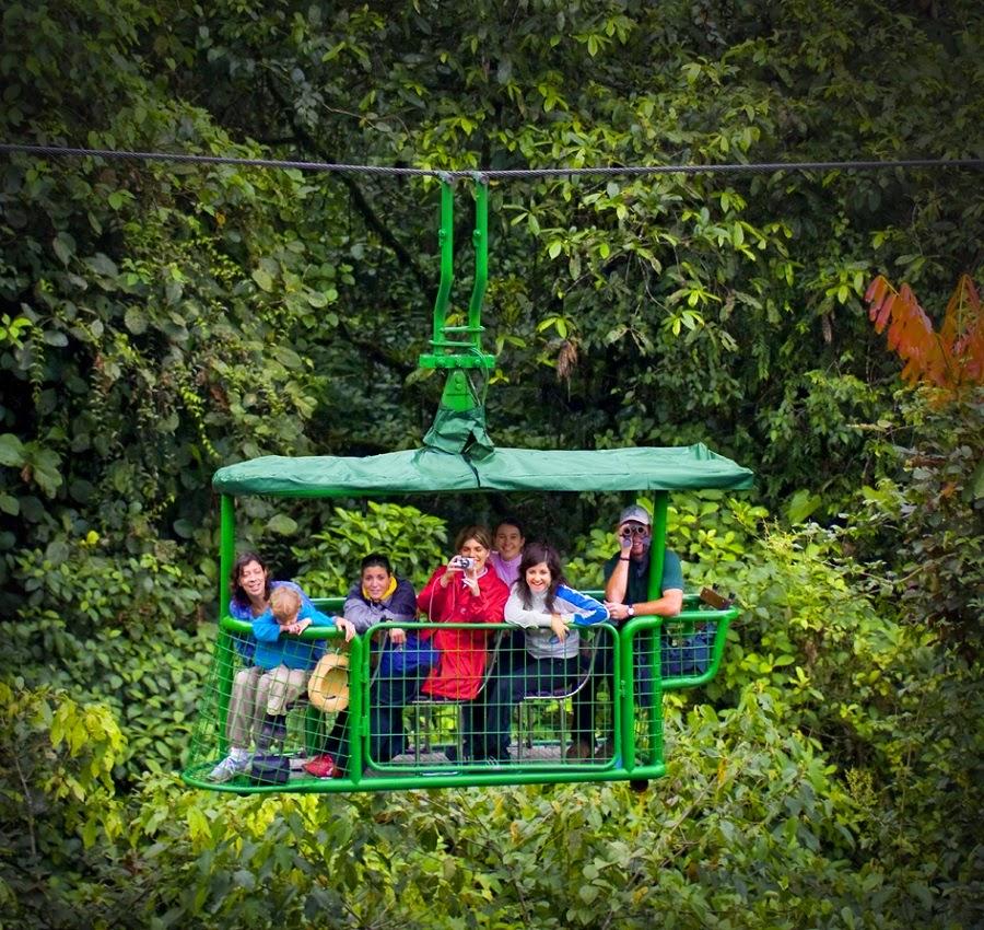 Costa Rica Aerial Tram