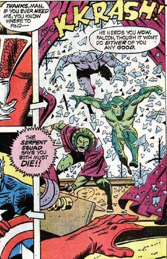 Squadra dei Serpenti Serpent Squad Marvel