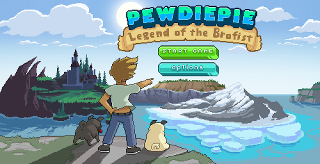 legend of brofit pewdiepie apple game