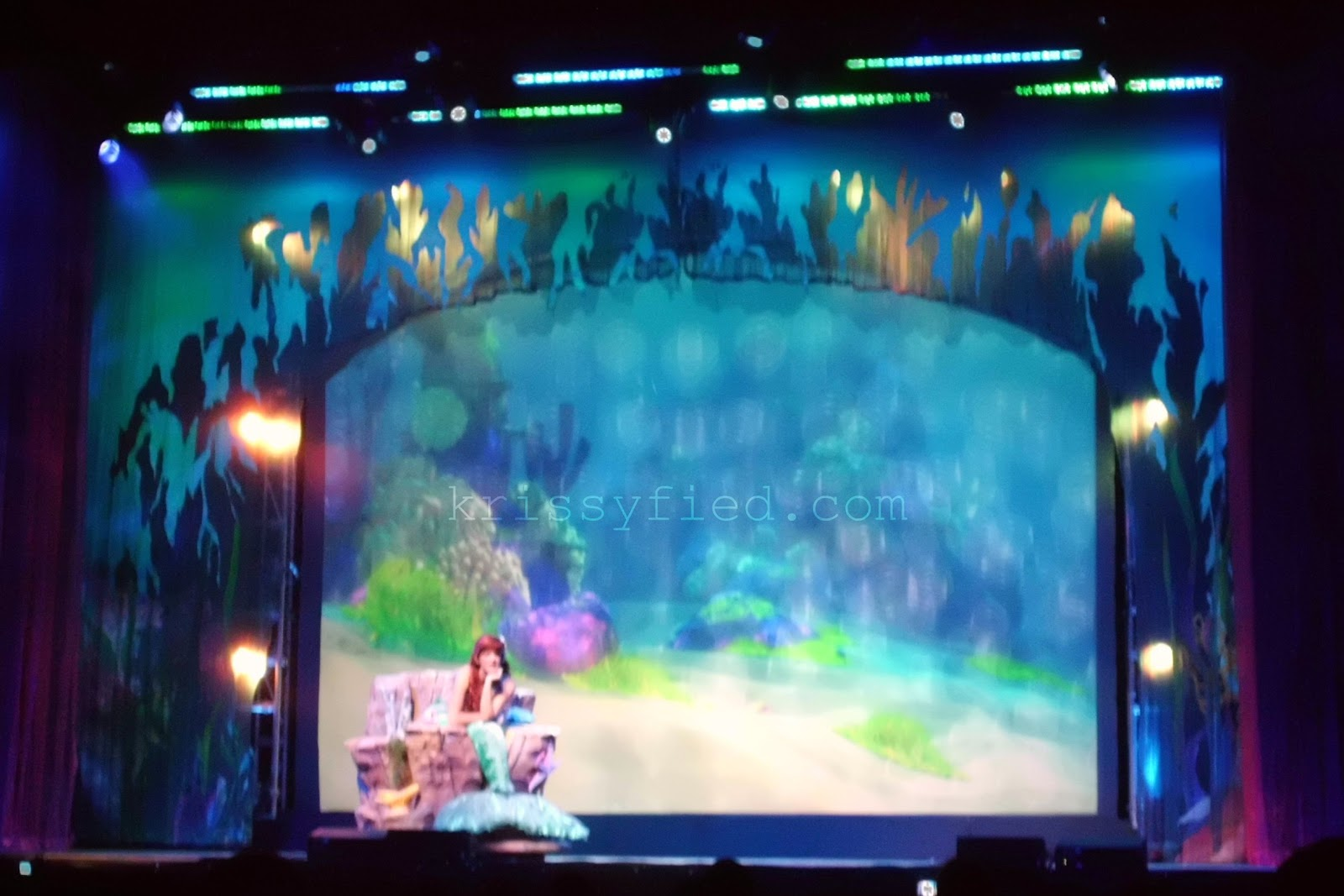 Closed curtains intermission - Magical Memorable Night With Mickey Mouse And Friends
