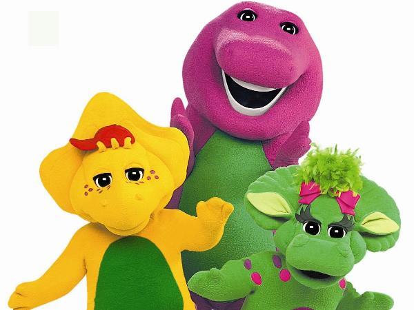 Barney e seus amigos em Campina Grande