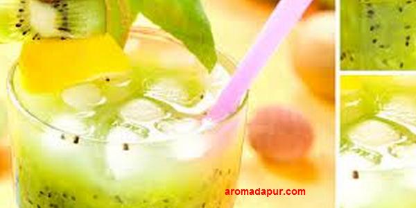 Resep Es Melon Kelengkeng  aromadapurdotcom