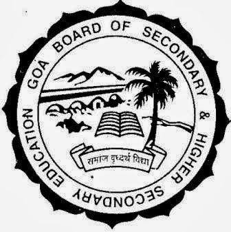 Goa Board Exam Results 2014 - HSSC /SSC - Goa Board Exam Results 2015