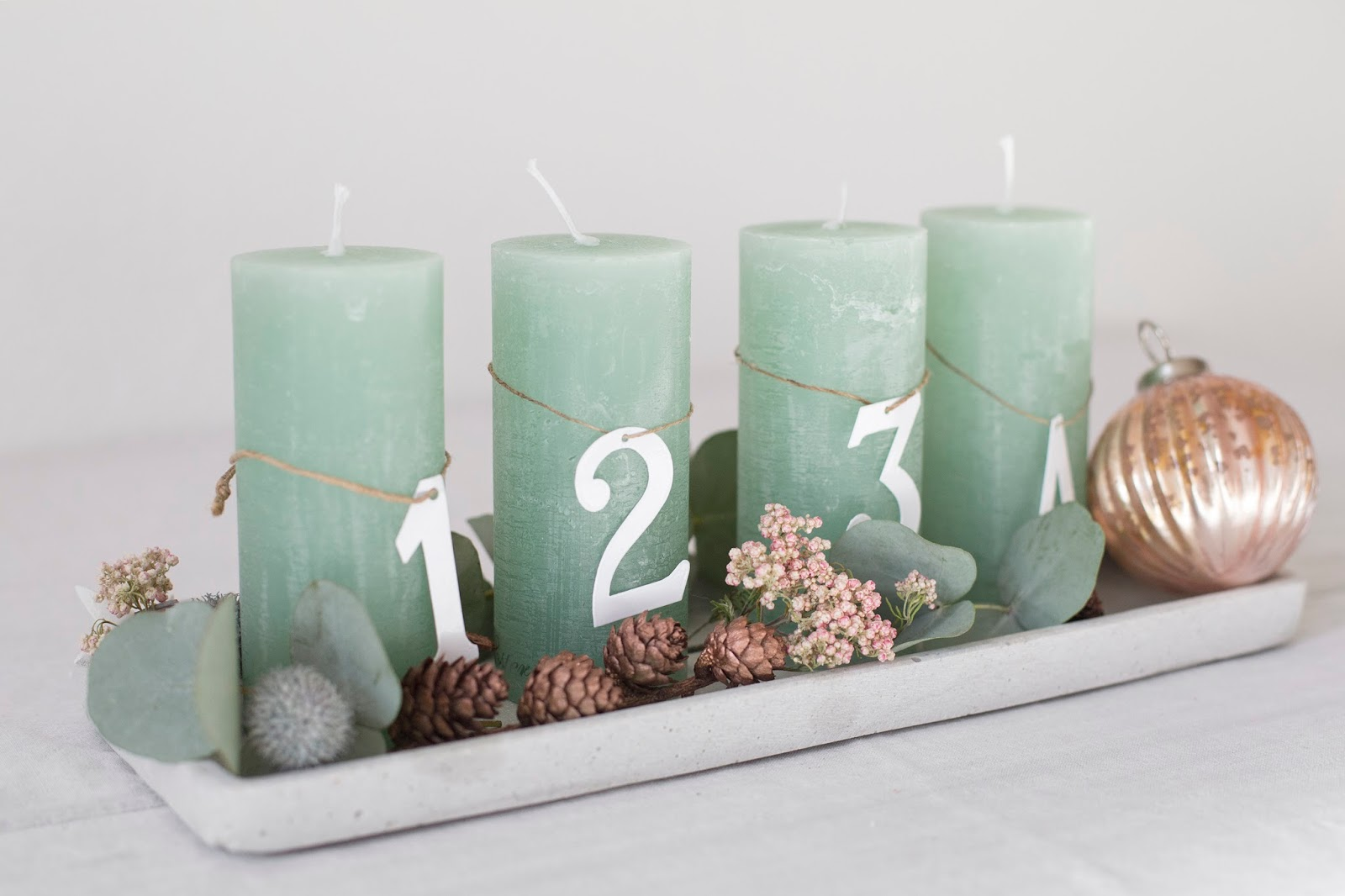 Adventskranz DIY