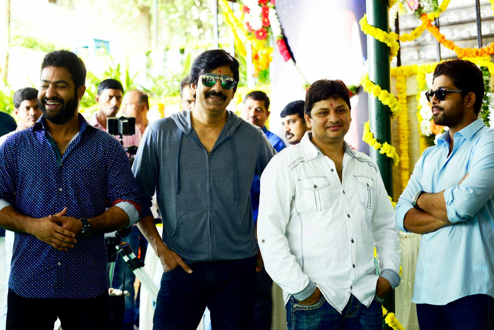 Ravi Teja Kick 2 Movie Opening Stills | Jr NTR | Allu Arjun | Kalyan Ram