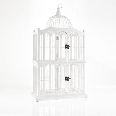 Fresia blanca jaulas decorativas - Jaulas decorativas ikea ...