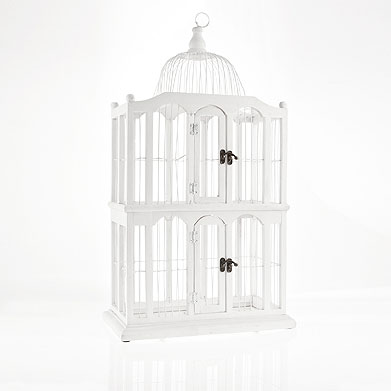 Fresia blanca jaulas decorativas - Jaulas decorativas zara home ...