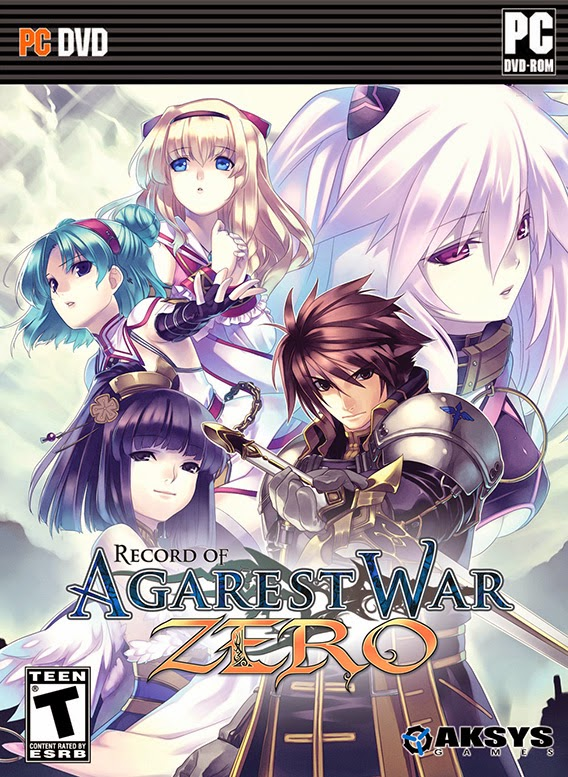Agarest Generations of War Zero release