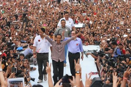 Pemenang Pilpres 2014 Jokowi JK