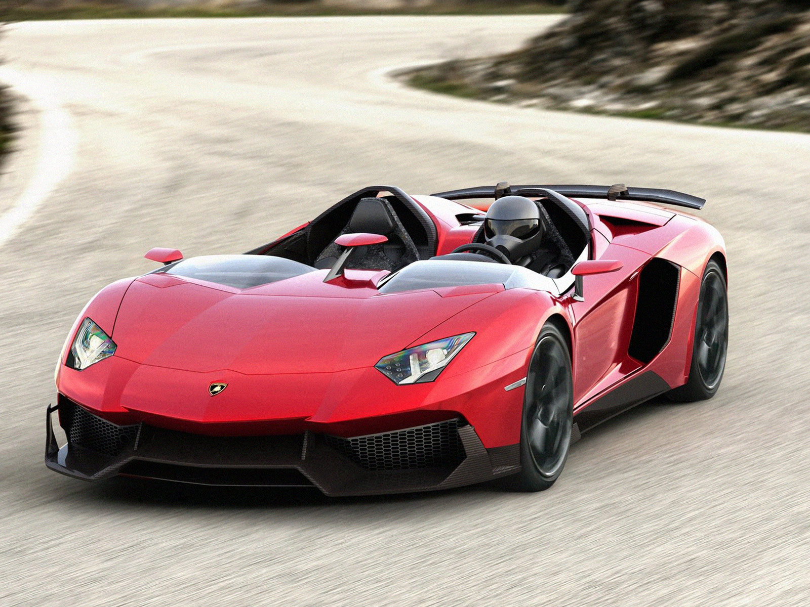 foto mobil sport lamborghini aventador j concept 2012. Black Bedroom Furniture Sets. Home Design Ideas