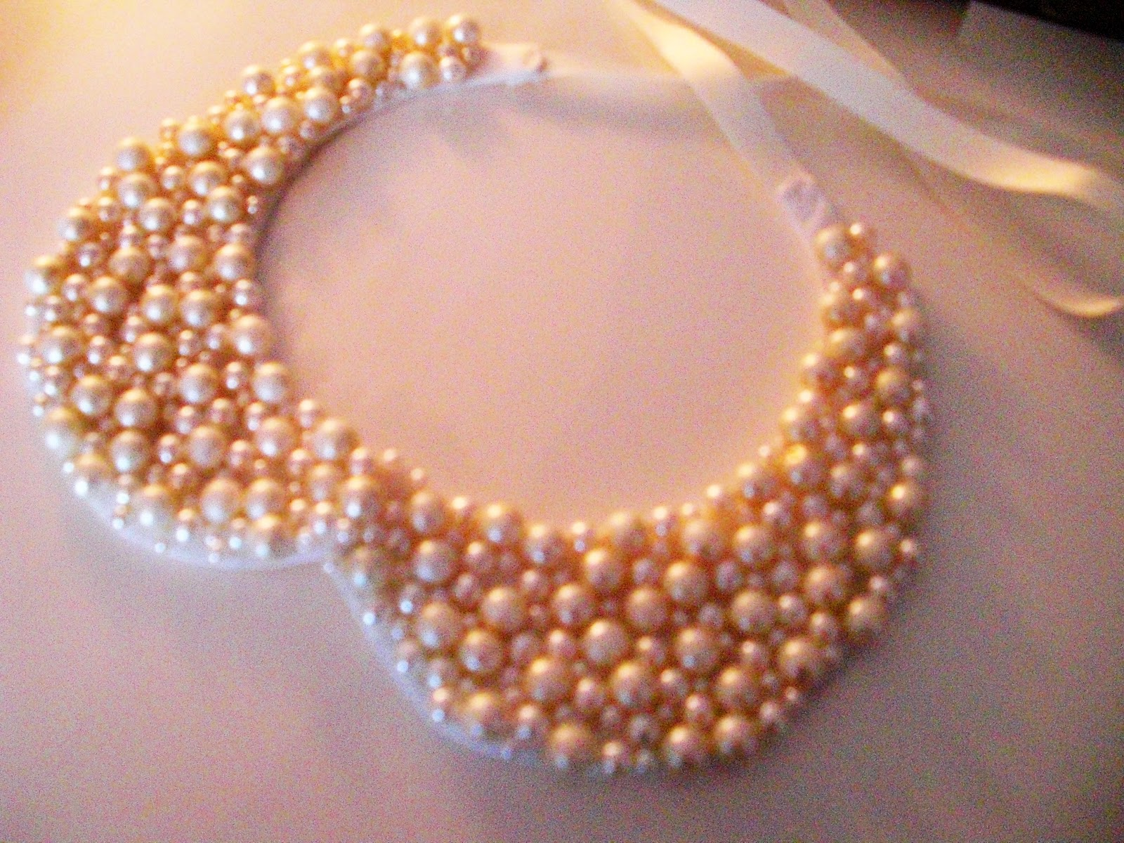 satin p edged necklace ribbon asp white colour gold colours twirlz metre per