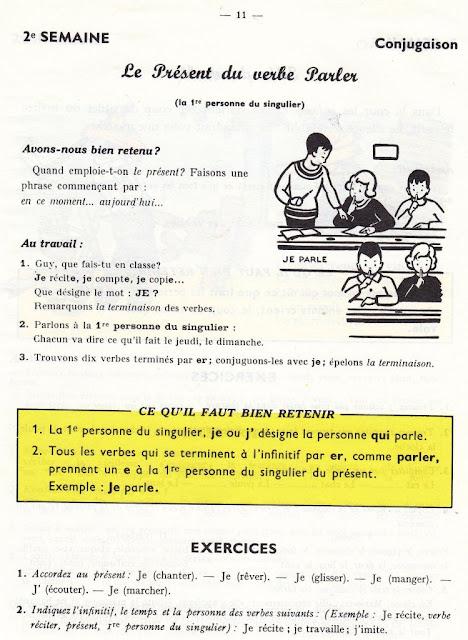 Berthou, Grémeaux, Voegelé Grammaire CE1 (années 1950)