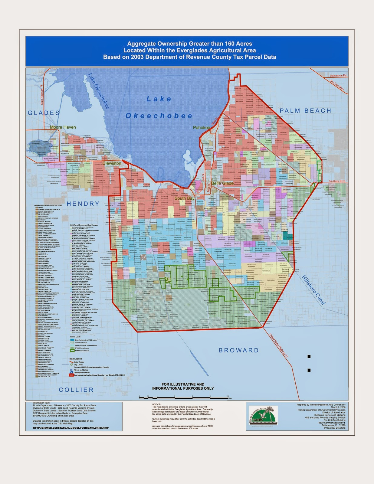 EYE ON MIAMI Big Sugar The Big Squeeze And The Everglades By - Everglades on us map