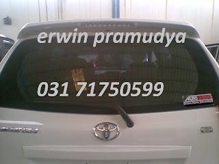 Toyota All New Avanza Spoiler