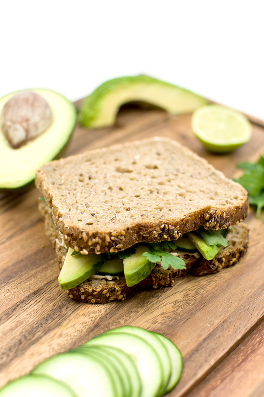Avocado sandvich