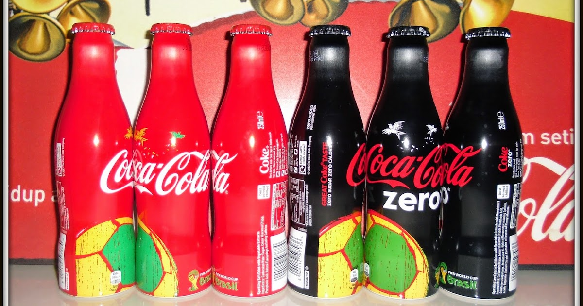 Coca WORLD CUP Aluminum Bottle Thailand Aluminium LMT Full Bottle no.4