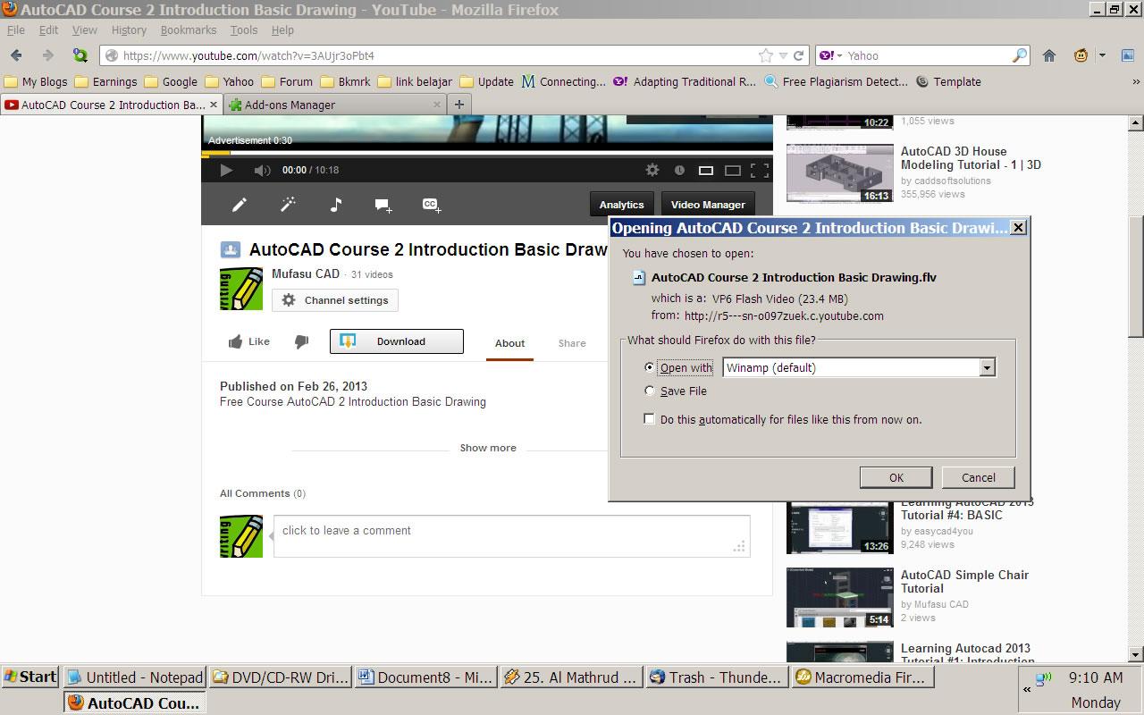 Cara Download Youtube Menggunakan Keepvid