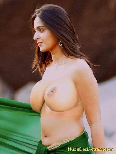 boobs nude Anushka shetty