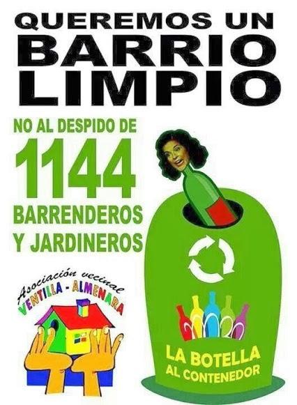 En verde hoy martes se inici la huelga indefinida de for Sindicato jardineros