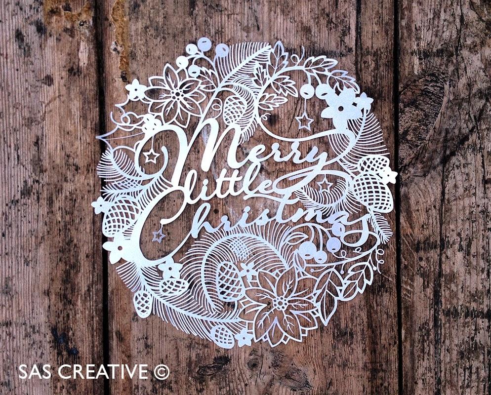 sas creative merry little christmas