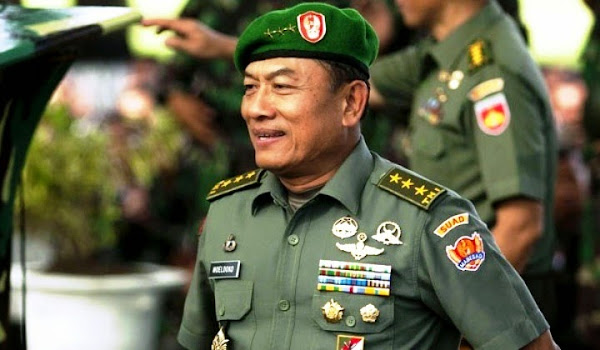 Panglima TNI Jenderal TNI Moeldoko. PROKIMAL ONLINE Kotabumi Lampung Utara