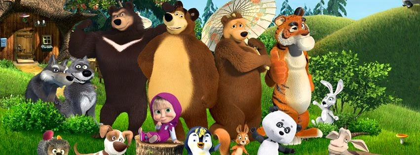 Foto Masha and The Bear Paling Terbaru | Claudia Garniez 2016