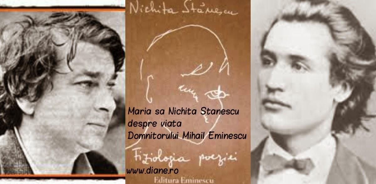 Nichita Stanescu despre viata lui Eminescu|Fiziologia poeziei