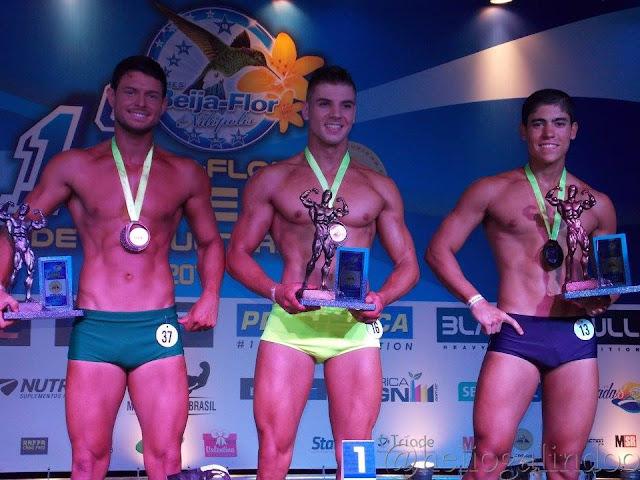 Igor Kreischer foi Campeão Body Shape até 1,78 m do 1º Beija Flor Open Fitness. Foto: Hélio Galindo