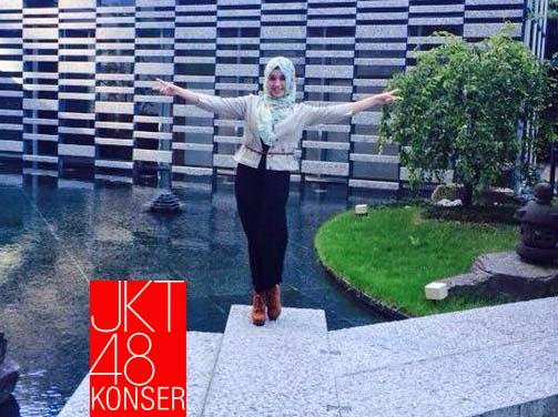Foto Nabilah JKT48 berjilbab