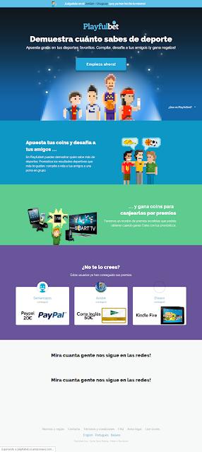 El nuevo diseño de Playfulbet; apuestas deportivas gratuitas con estilo