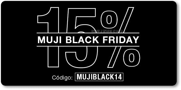 28/11 - BLACKFRIDAY - MUJI