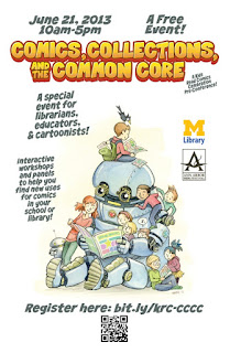 Comics, Collections, and the Common Core