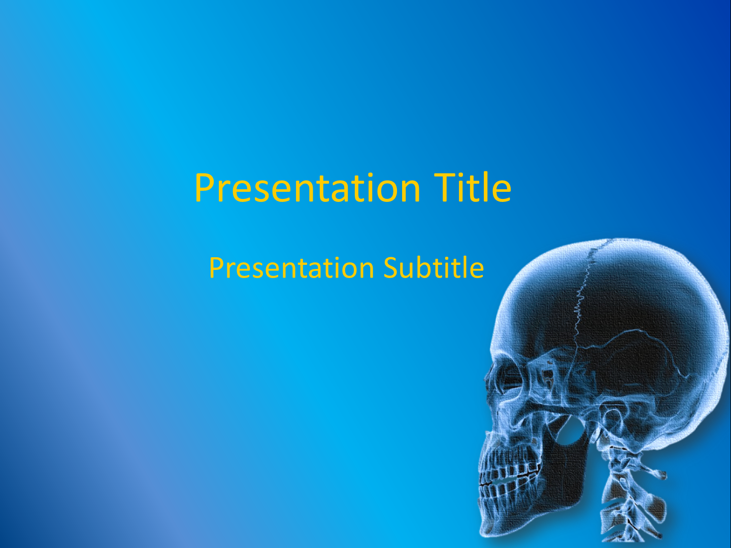 Orthopedics powerpoint template free download free medical an error occurred toneelgroepblik Images