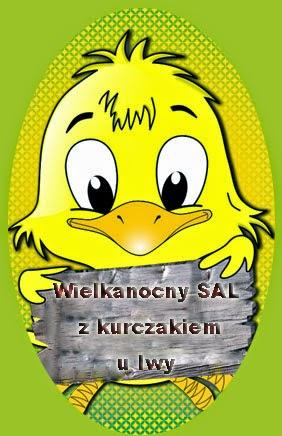 Wielkanocny SAL z kurczakiem