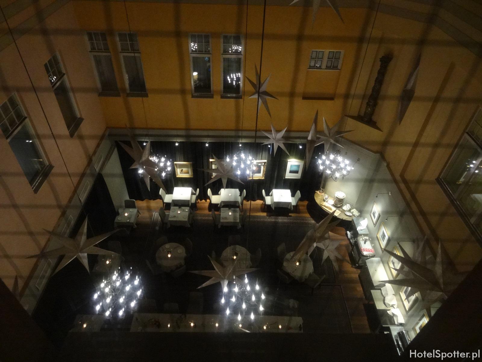 Radisson Blu Strand Hotel, Stockholm - restauracja w atrium