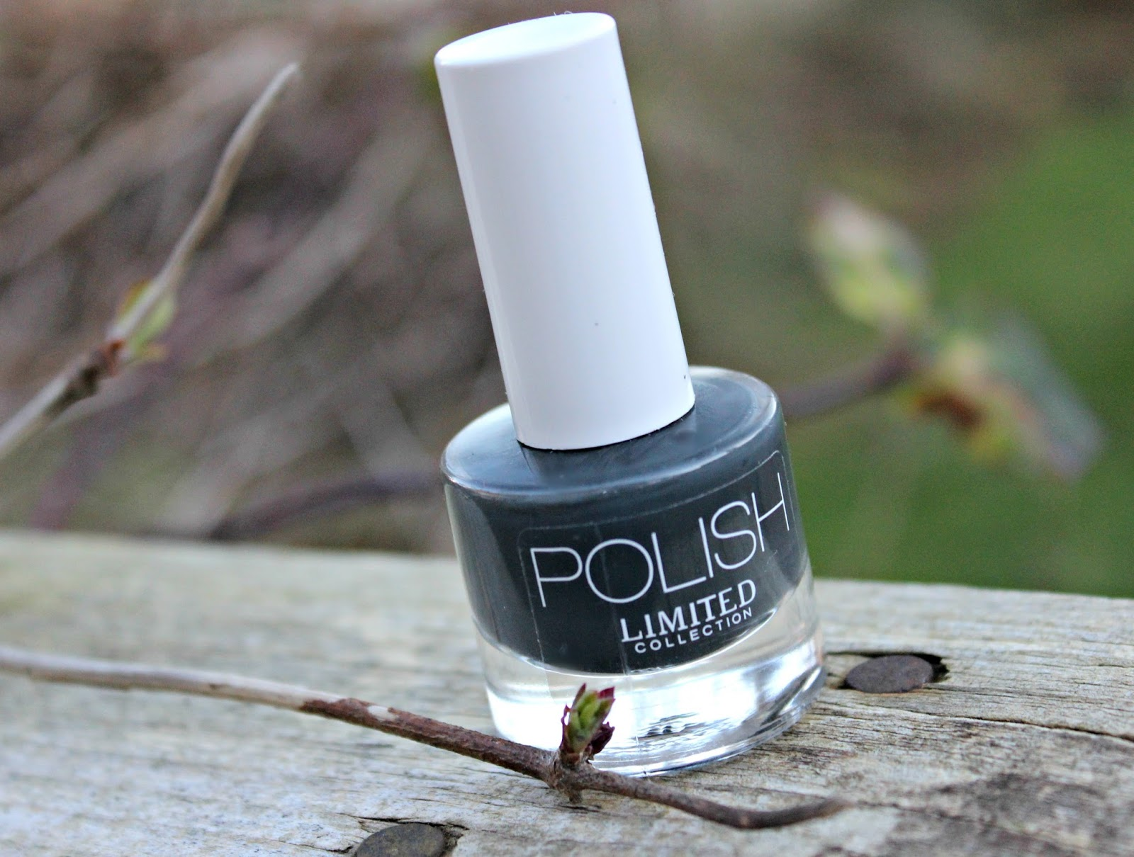 A picture of the Marks & Spencer Limited Collection Quick Dry Nail Polish in Storm